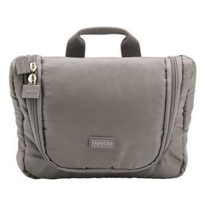 La Poche Travel Toiletry Organiser Bag | Grey - Jetsettr.com.au - 1