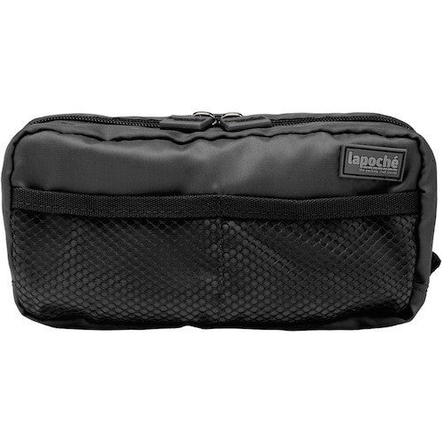 La Poche Toiletry Organiser | Wet-Pack | Black - Jetsettr.com.au - 2