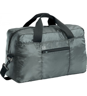 Go Travel Xtra Travel Bag: Gun Metal - Jetsettr.com.au - 1