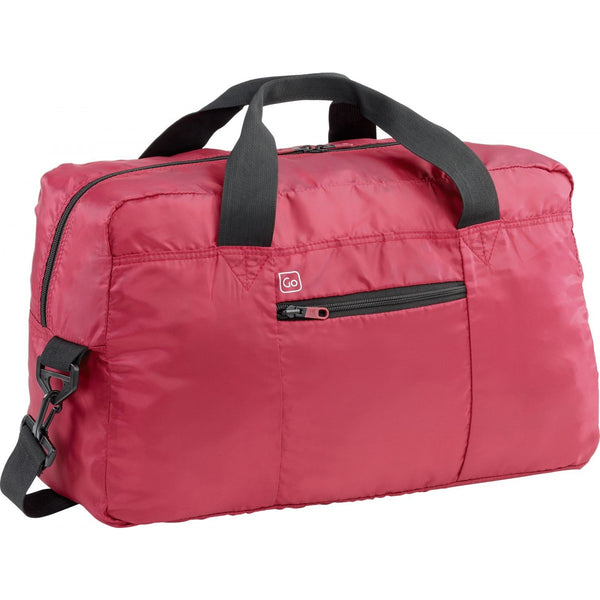 Go Travel Xtra Travel Bag: Strawberry Red - Jetsettr.com.au - 1