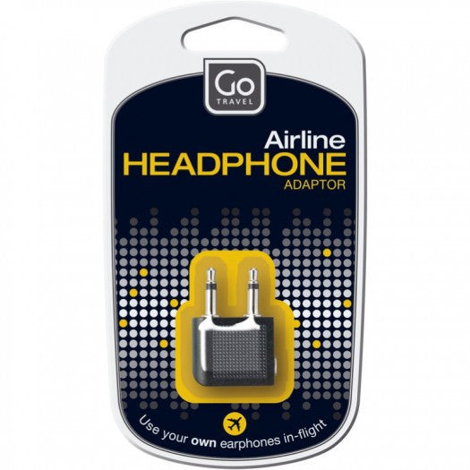 Go Travel Airline Head Phone Adaptor - Jetsettr.com.au - 1