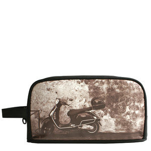 Tough Love + Carry Retro Rogue Medium Wet-Pack | Toiletry Bag: Scooter - Jetsettr.com.au - 1