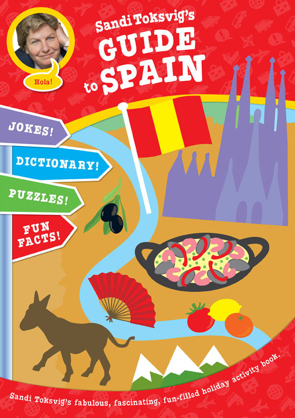 Sandi Toksvig's Guide To Spain | Kids Activity Book - Jetsettr.com.au
