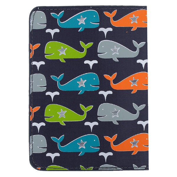 DQ & Co. Fun Love Passport Cover: Whale Splash - Jetsettr.com.au - 4