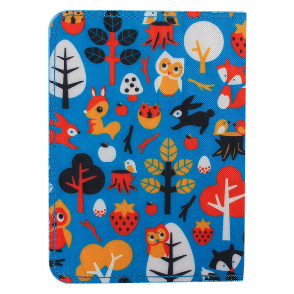 DQ & Co. Fun Love Passport Cover: Woodland Fantasy - Jetsettr.com.au - 4