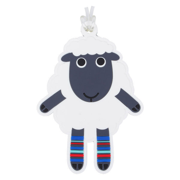 DQ & Co. Dressed Up Luggage Tag: Sheep - Jetsettr.com.au - 1
