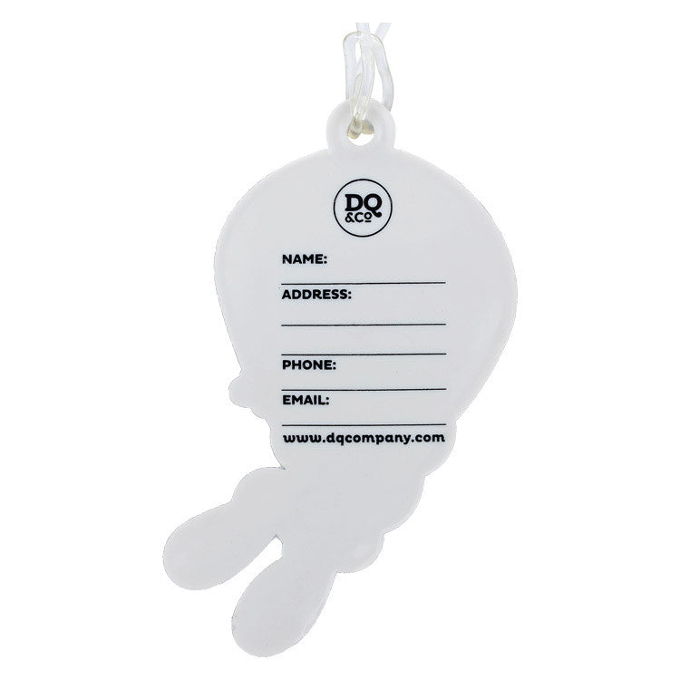 DQ & Co. Kids Luggage Tag: Flying Rabbit - Jetsettr.com.au - 1