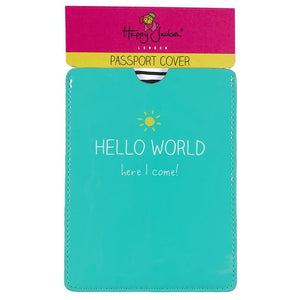 Happy Jackson Passport Sleeve: Hello World! - Jetsettr.com.au - 3