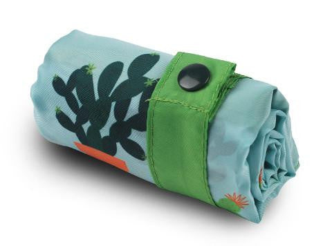 LOQI Eco-friendly Shopping Tote: Cactus - Jetsettr.com.au - 1