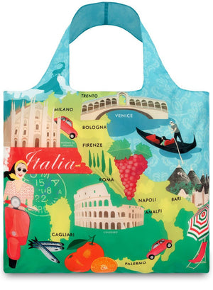 LOQI Eco-friendly Shopping Tote: Italy - Jetsettr.com.au - 1