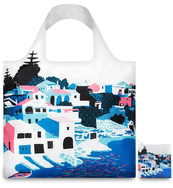 LOQI Eco-friendly Shopping Tote: Alice Stevenson Bay - Jetsettr.com.au - 3