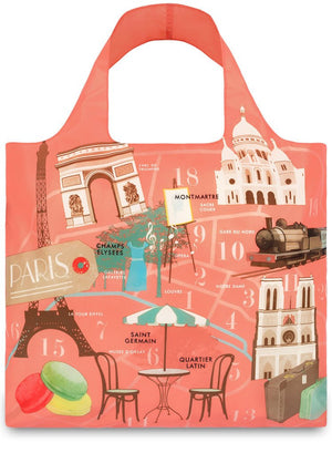 LOQI Eco-friendly Shopping Tote: Paris - Jetsettr.com.au - 1