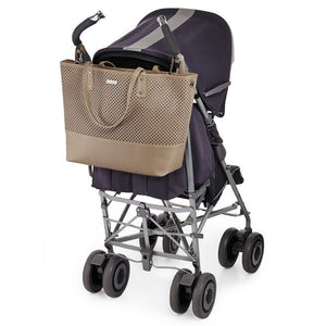 Skip Hop Duet 2-in-1 Tote Nappy Bag: Taupe - Jetsettr.com.au - 11