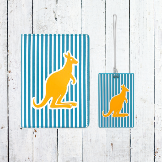 DQ Co. Spots & Stripes Gift Set: Kangaroo - Jetsettr.com.au - 1