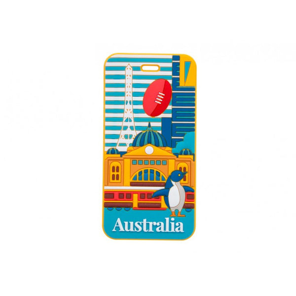 AT Travel Australia Luggage Tag: Melbourne - Jetsettr.com.au - 1
