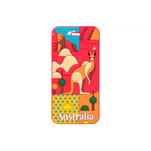 AT Travel Australia Luggage Tag: Outback - Jetsettr.com.au - 1