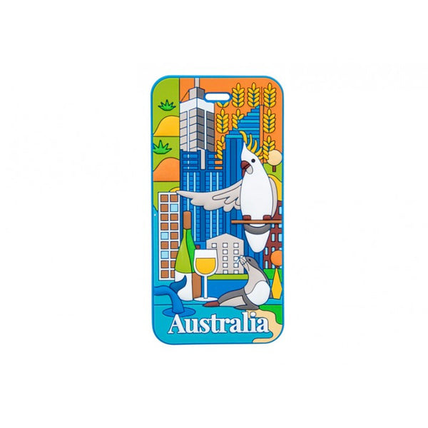 AT Travel Australia Luggage Tag: Perth - Jetsettr.com.au - 1