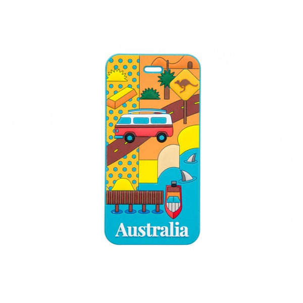 AT Travel Australia Luggage Tag: South Australia - Jetsettr.com.au - 1