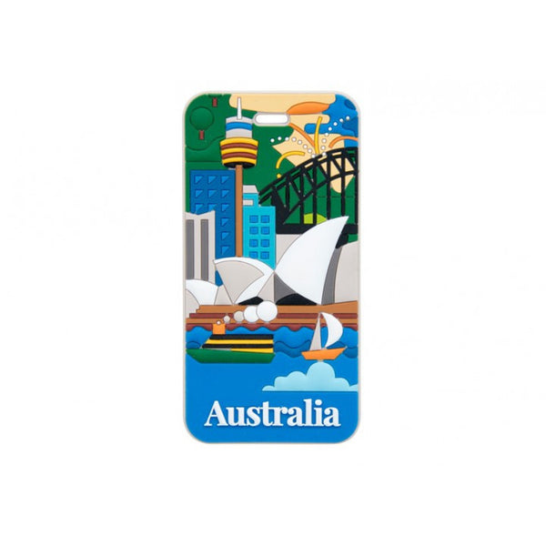 AT Travel Australia Luggage Tag: Sydney - Jetsettr.com.au - 1