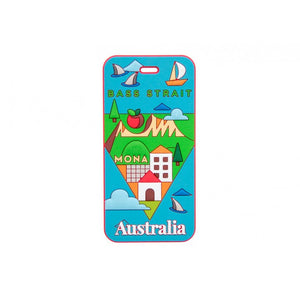 AT Travel Australia Luggage Tag: Tassie - Jetsettr.com.au - 1