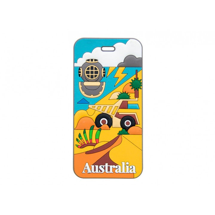 AT Travel Australia Luggage Tag: Western Australia - Jetsettr.com.au - 1