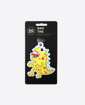DQ & Co. Kids Luggage Tag: Monster Smellow - Jetsettr.com.au - 5