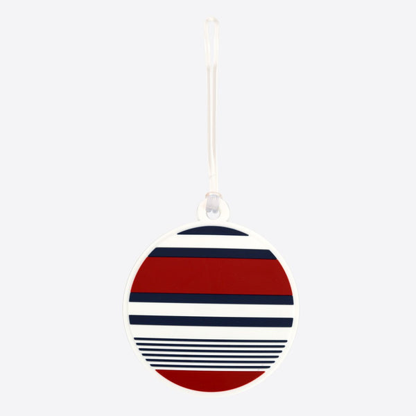 DQ Co. Luggage Tag: Sailor Stripes - Jetsettr.com.au - 1