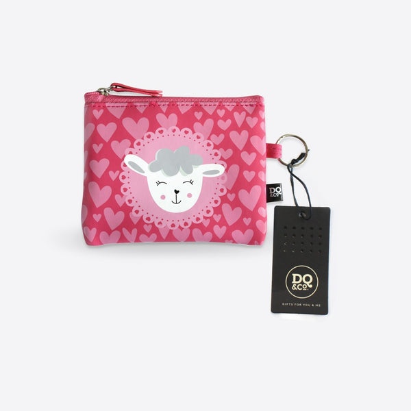 DQ Co. Charming Collection Essential Pouch: Dreamy Sheep - Jetsettr.com.au - 2