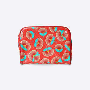 DQ Co. Habitat Large Toiletry Bag: Pohutukawa - Jetsettr.com.au - 1