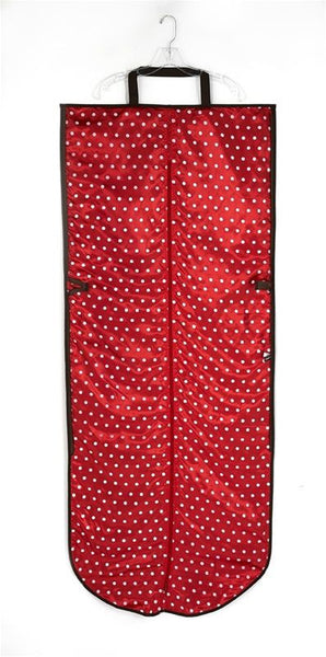 Jimeale New York Dress Bag: Red Polka Dots - Jetsettr.com.au - 2