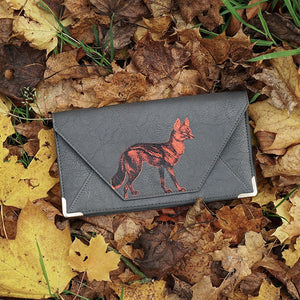 Heritage & Harlequin Travel Wallet: Fox - Jetsettr.com.au - 5