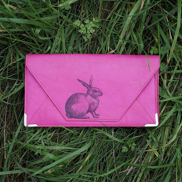 Heritage & Harlequin Travel Wallet: Rabbit - Jetsettr.com.au - 5