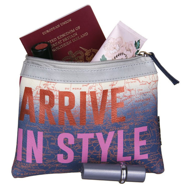 Disaster Designs Jet Lag Travel Pouch: Arrive In Style - Jetsettr.com.au - 2
