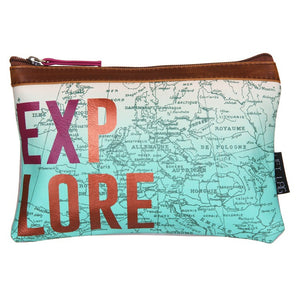 Disaster Designs Jet Lag Travel Pouch: Explore - Jetsettr.com.au - 1