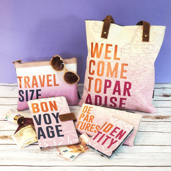 Disaster Designs Jet Lag Tote Bag: Welcome To Paradise - Jetsettr.com.au - 7
