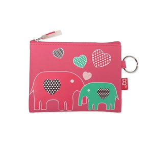 DQ Co. Charming Collection Essential Pouch: Elephant Love - Jetsettr.com.au - 1