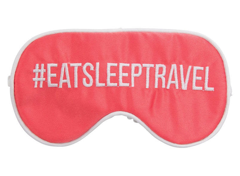 Annabel Trends Travel Eye Mask: #EATSLEEPTRAVEL - Jetsettr.com.au