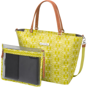 Petunia Pickle Bottom Altogether Tote - Electric Citrus - Jetsettr.com.au - 1