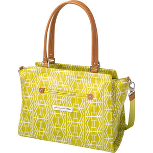 Petunia Pickle Bottom Statement Satchel - Electric Citrus - Jetsettr.com.au - 2