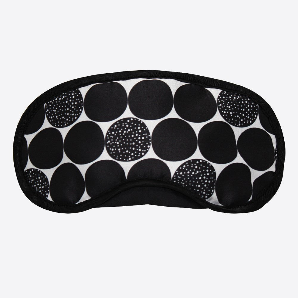 DQ Co. Eye Mask: Retro Dots - Jetsettr.com.au
