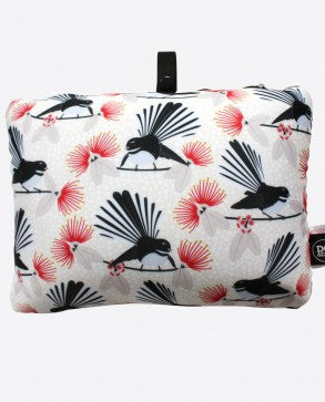 DQ & Co. Habitat 2 in 1 Travel Pillow: Flirting Fantails - Jetsettr.com.au - 1