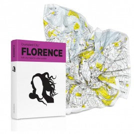 Crumpled City Map: Florence | Made In Italy - Jetsettr.com.au - 3
