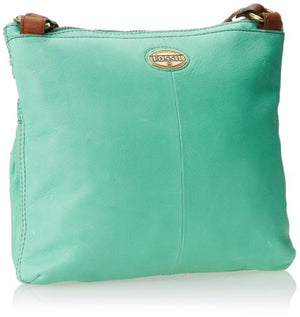 Fossil Explorer Crossbody Bag: Mint - Jetsettr.com.au - 2