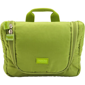 La Poche Travel Toiletry Organiser Bag | Green - Jetsettr.com.au - 1