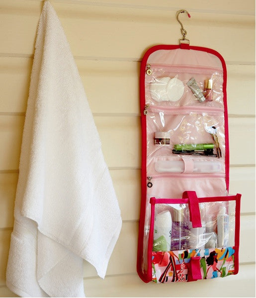 Julie Slater Hanging Toiletry Bag: Girl About Town - Jetsettr.com.au - 2