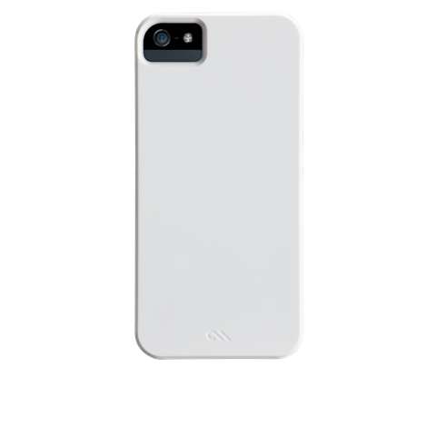 Case Mate iPhone 5 Barely There: Glossy White - Jetsettr.com.au - 1