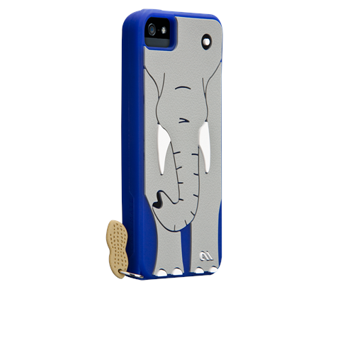 Case Mate iPhone 5 Creatures Cover: Ellie the Elephant - Jetsettr.com.au - 1