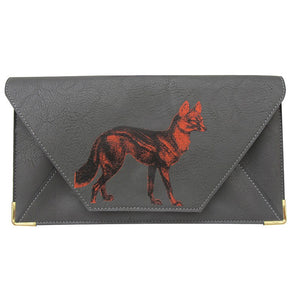 Heritage & Harlequin Travel Wallet: Fox - Jetsettr.com.au - 1