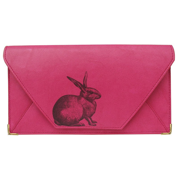 Heritage & Harlequin Travel Wallet: Rabbit - Jetsettr.com.au - 1