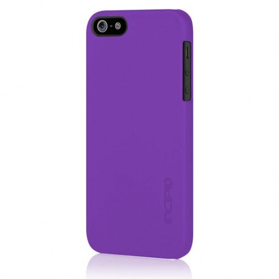 Incipio iPhone 5 Ultra-Thin Feather Snap-On Cover: Royal Purple - Jetsettr.com.au - 1